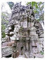 Turm in Ta Prohm