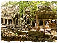 Gallerie in Ta Prohm