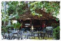 Die Baobab Bar am Galu Beach Hotel