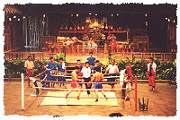 Thai Boxen Showkampf in Rose Garden